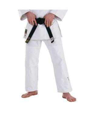 Pantaloni HIKU Shiai Bianco