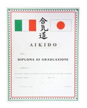 Diploma Aikido Graduazione