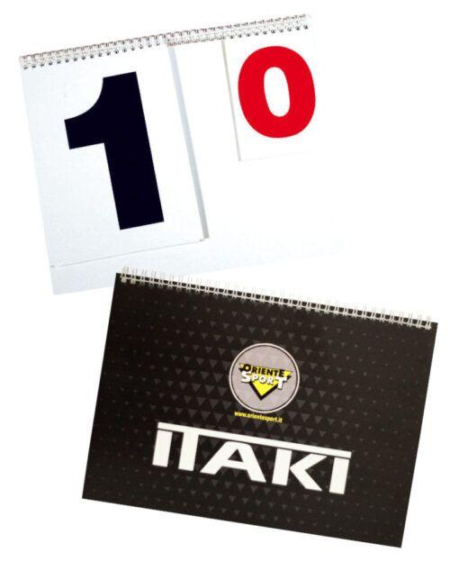 Segnapunti Karate Kata Itaki