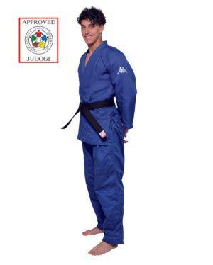 Judogi Kappa Atlanta Blu Approvato IJF