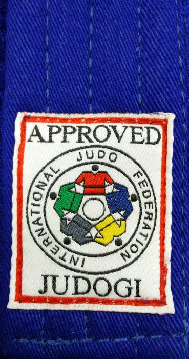 Judogi Yusho Blu IJF