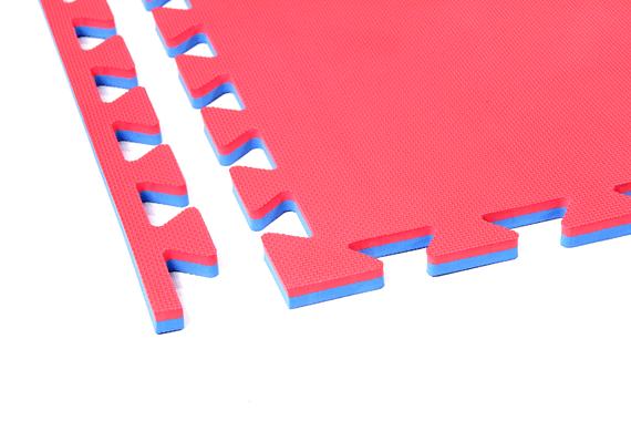 Tatami 2 cm Rosso/Blu