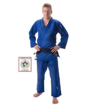 Judogi HIKU Shiai Blu Approvato IJF