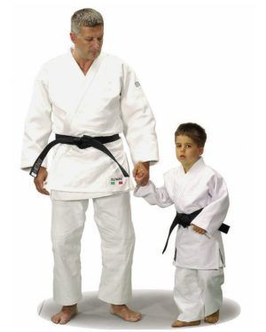 Judogi Itaki Olympic Bianco