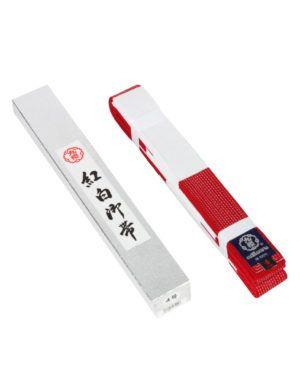 Cintura KuSakura Bianco/Rossa